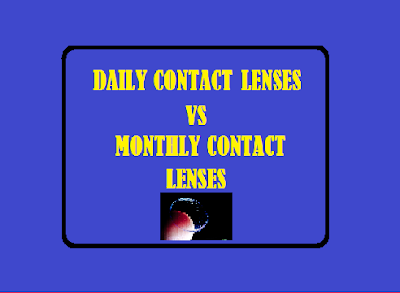 Daily Contact Lenses vs Monthly Contact Lenses