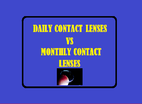 Daily Contact Lenses or Monthly Contact Lenses : Which Is Better?