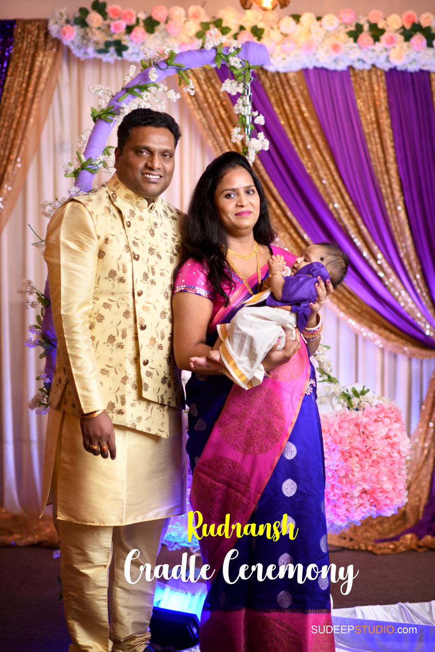 Indian Cradle Ceremony Photography Northville Farmington Hills SudeepStudio.com Ann Arbor Indian Event Photographer