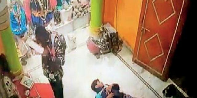 टीटी नगर में काली मंदिर से 13 लाख रुपए चोरी | BHOPAL NEWS