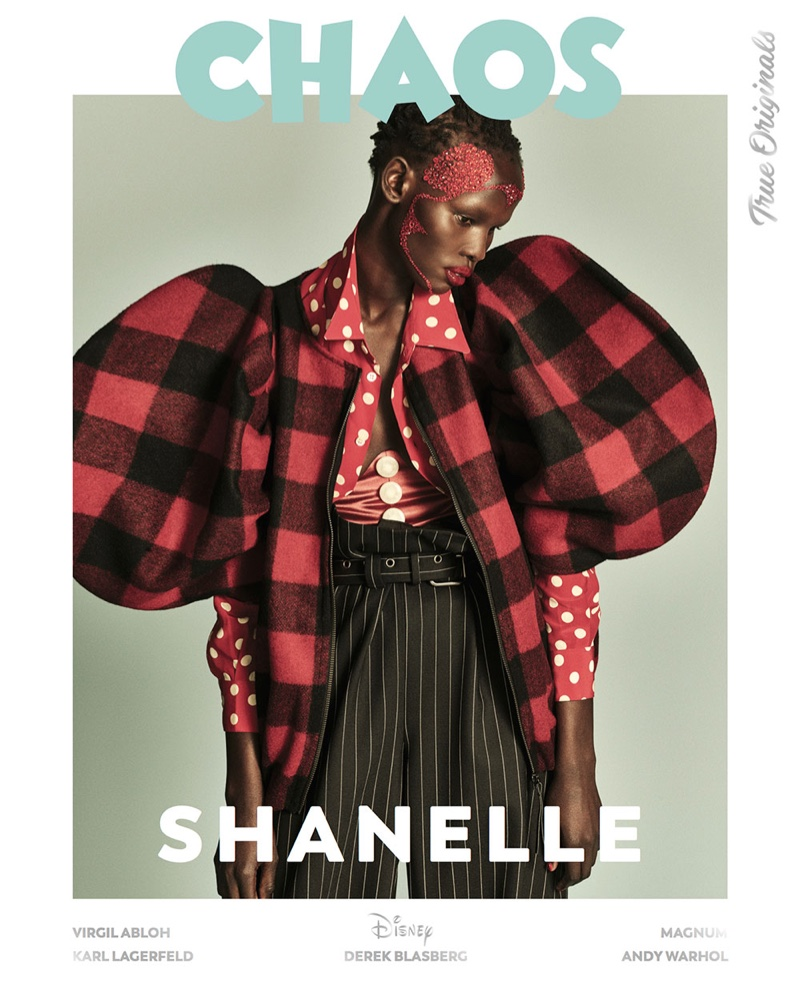 Shanelle Williams on Chaos Magazine True Originals 2018 Cover