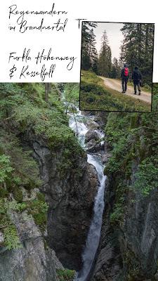 Regenwandern im Brandnertal  Furkla Höhenweg + Kesselfall 21