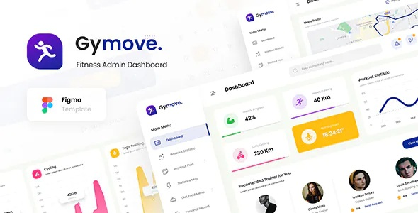 Best Fitness Admin Dashboard Template