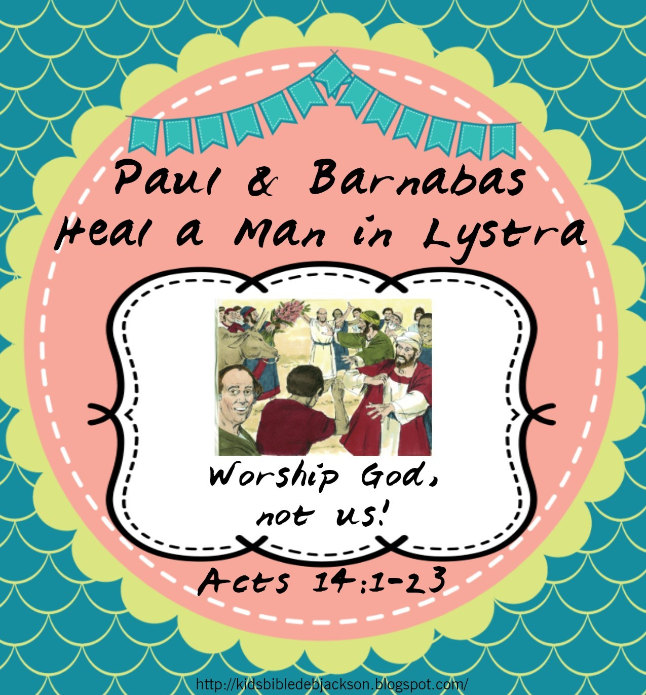 Bible Fun For Kids Paul Amp Barnabas In Lystra Worksheets