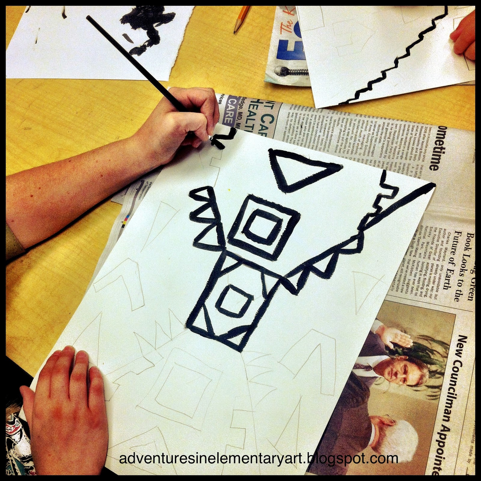 Adventures In Elementary Art Symmetry Color Mixing And