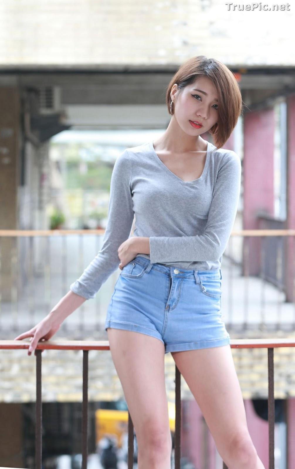 Image Pretty Taiwan Showgirl - 黃竹萱 - Beautiful Long Legs Girl - TruePic.net - Picture-9
