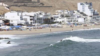 Beach south Peru