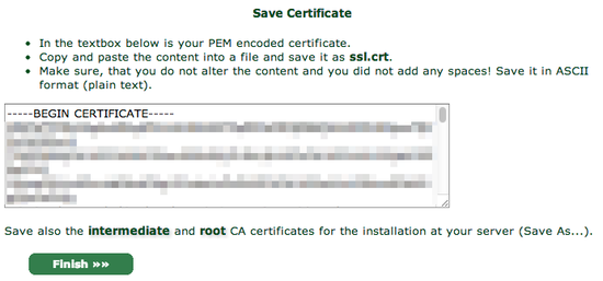 how to set up certificates