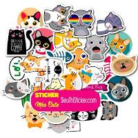 Sticker mèo cute