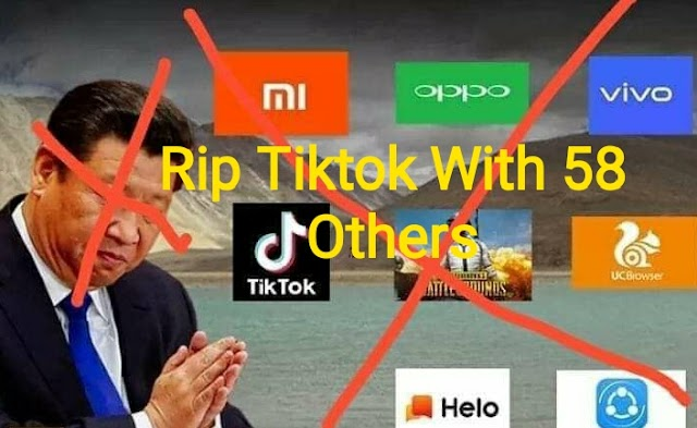 Modi Government banned Tiktok app in India along With 58 other Chinese app