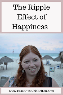 The ripple effect of happiness and why as a mother, it's important to invest in yourself