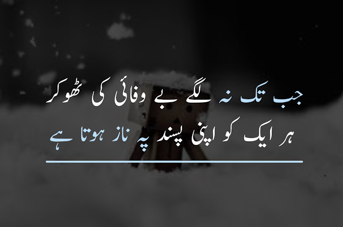 Two Line Sad Poetry 2020 #No 1 Poetry In Urdu/Hindi