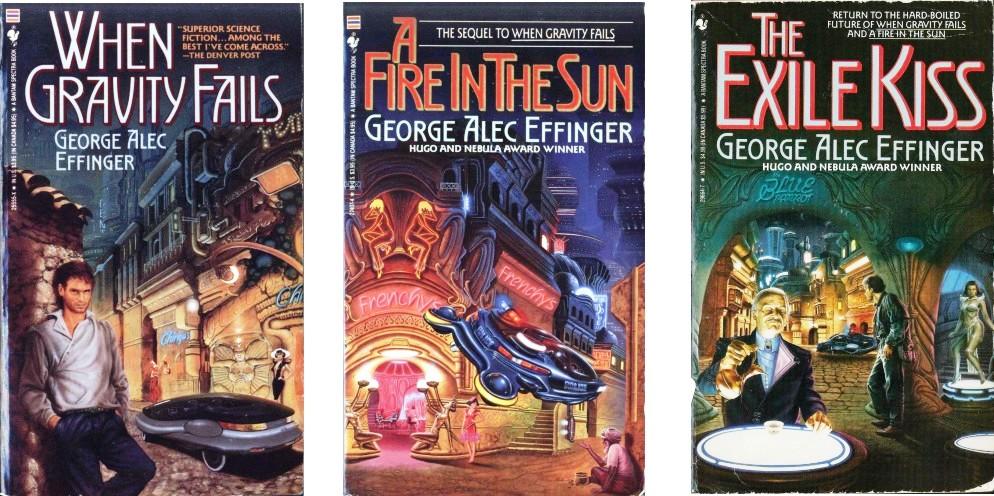 Image result for george alec effinger book covers 90s