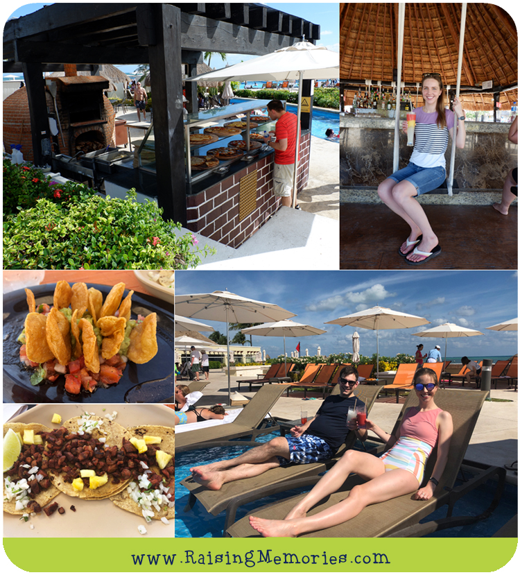 Best Outdoor Food at Moon Palace in Cancun