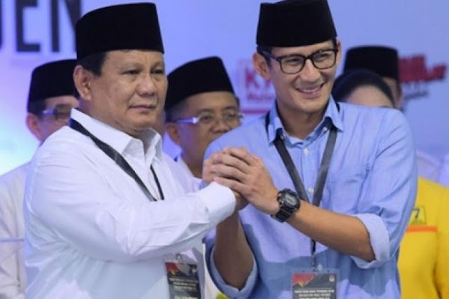 Prabowo-Sandi Unggul di Kantong Pemilih Terpelajar
