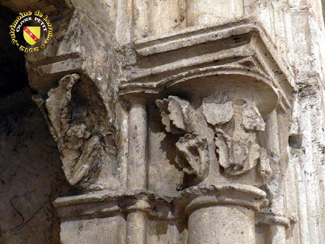 NANCY (54) - Musée Lorrain : Portail de la chapelle templière de Libdeau