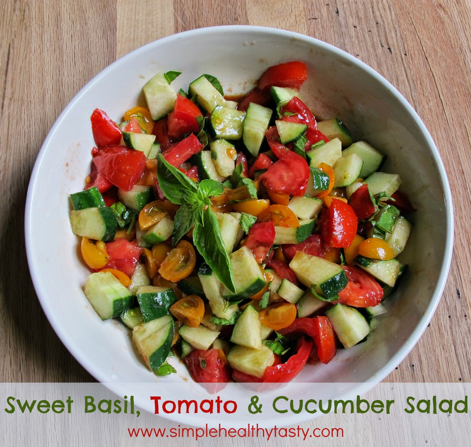 A Quick Summer Salad
