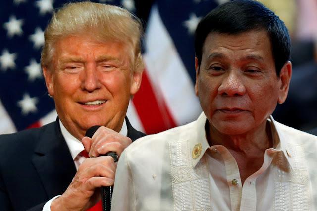 Duterte Congratulates Trump And Hopes For 'Enhanced PH-US Relations'