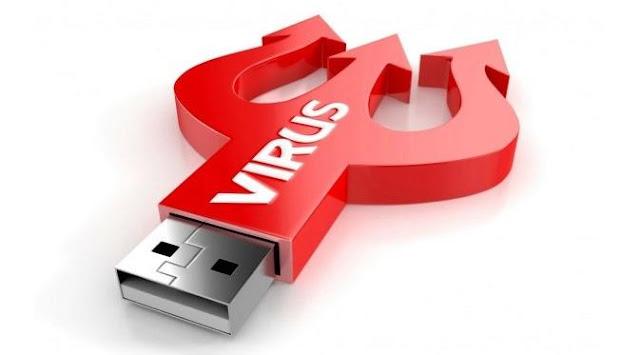 Cara mengembalikan file yang berubah shortcut di flashdisk karena virus