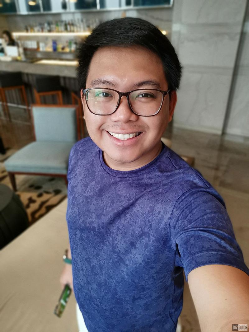 5T selfie bokeh
