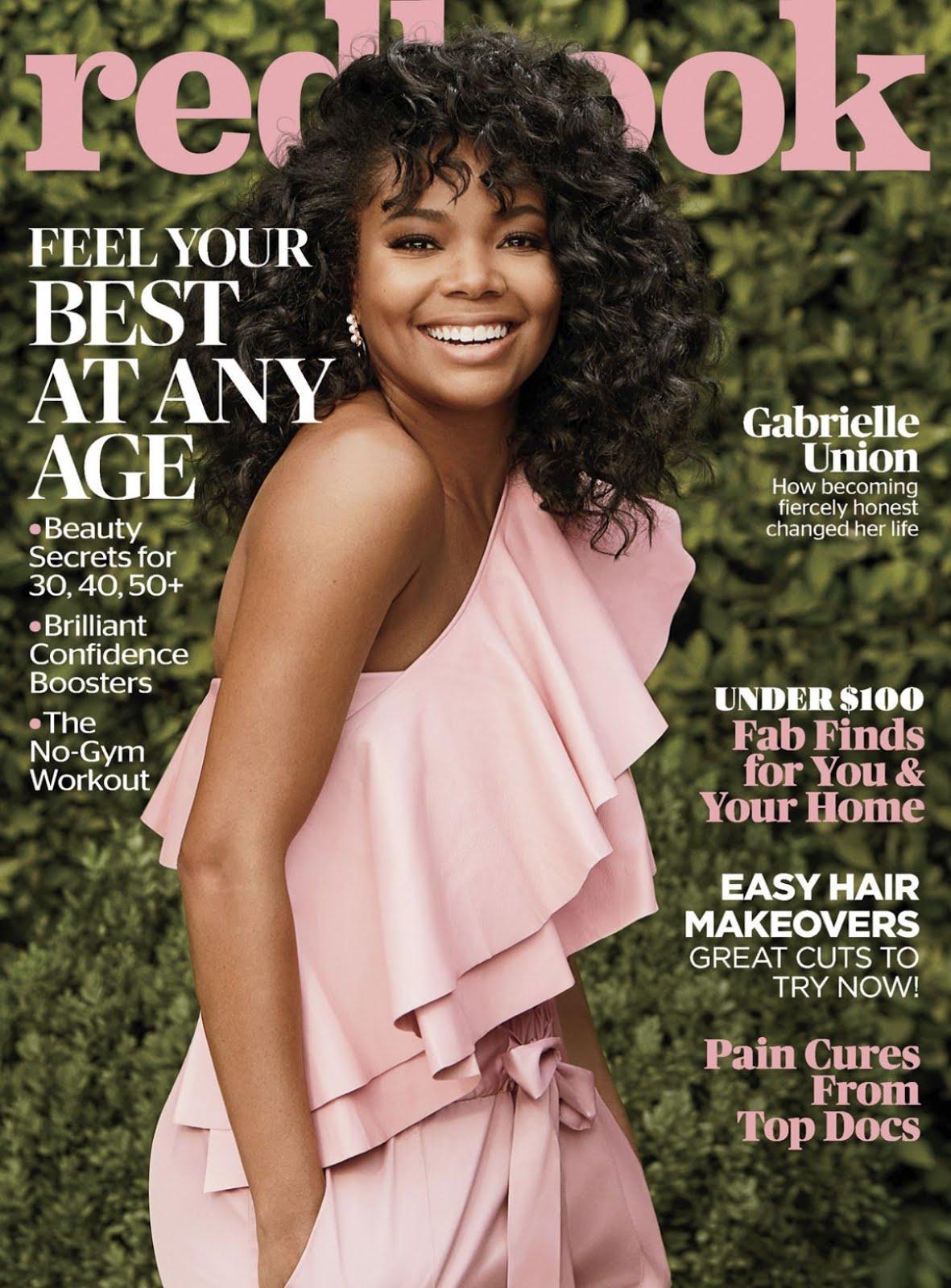 Gabrielle Union In Redbook Magazine March 2018 issue