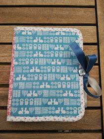 funda e-book, kindle case, costura, couture, sewing, tutorial