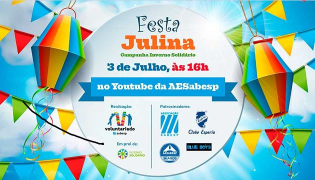 Sabesp promove live amanhã 3/7 em prol da Campanha Inverno Solidário 2021