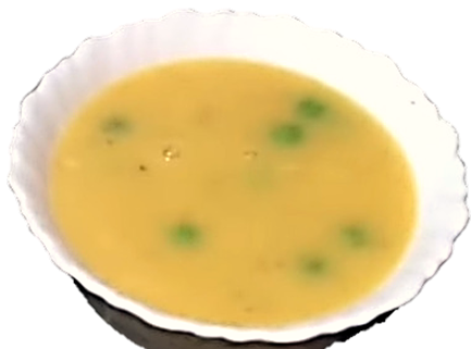 Pumpkin Green Pea Soup Recipe.