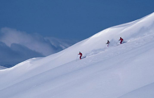 Competitive skiing events and skiing resorts in Africa