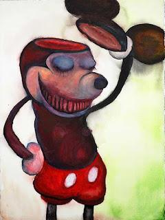 Faunadestia, pintura de Marilyn Manson.