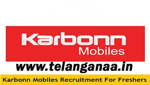 Karbonn Mobiles Recruitment 2016-2017 For Freshers Apply
