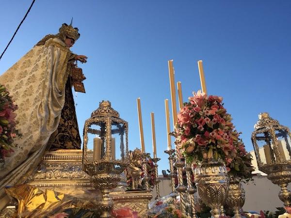 Suspendida la salida procesional de la Virgen del Carmen de El Puerto de Santa María