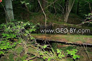 Wojciechowo (Novospask). Ninth located German bunker from the First World War. Ruins