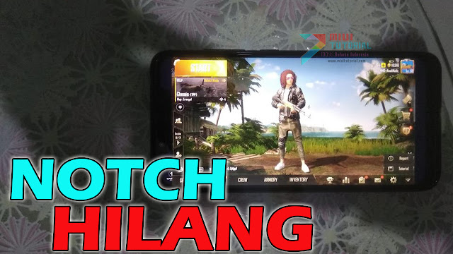 Hilangkan Notch Xiaomi POCOPHONE F1 Biar Auto Chicken Dinner PUBG Mobile