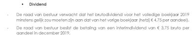 home invest belgium persbericht dividend