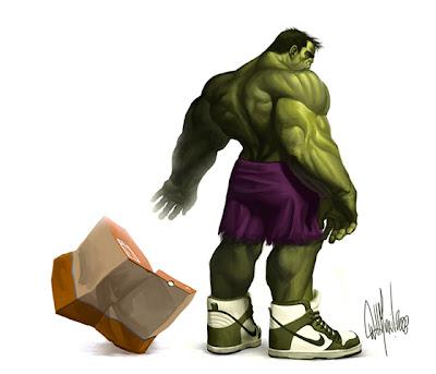 Ilustración de Hulk