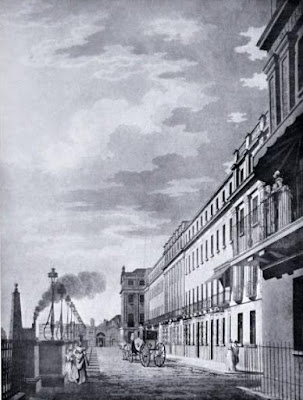 Adelphi Terrace from a print c1795 from The Architecture   of  Robert and James Adam by AT Bolton (1922)