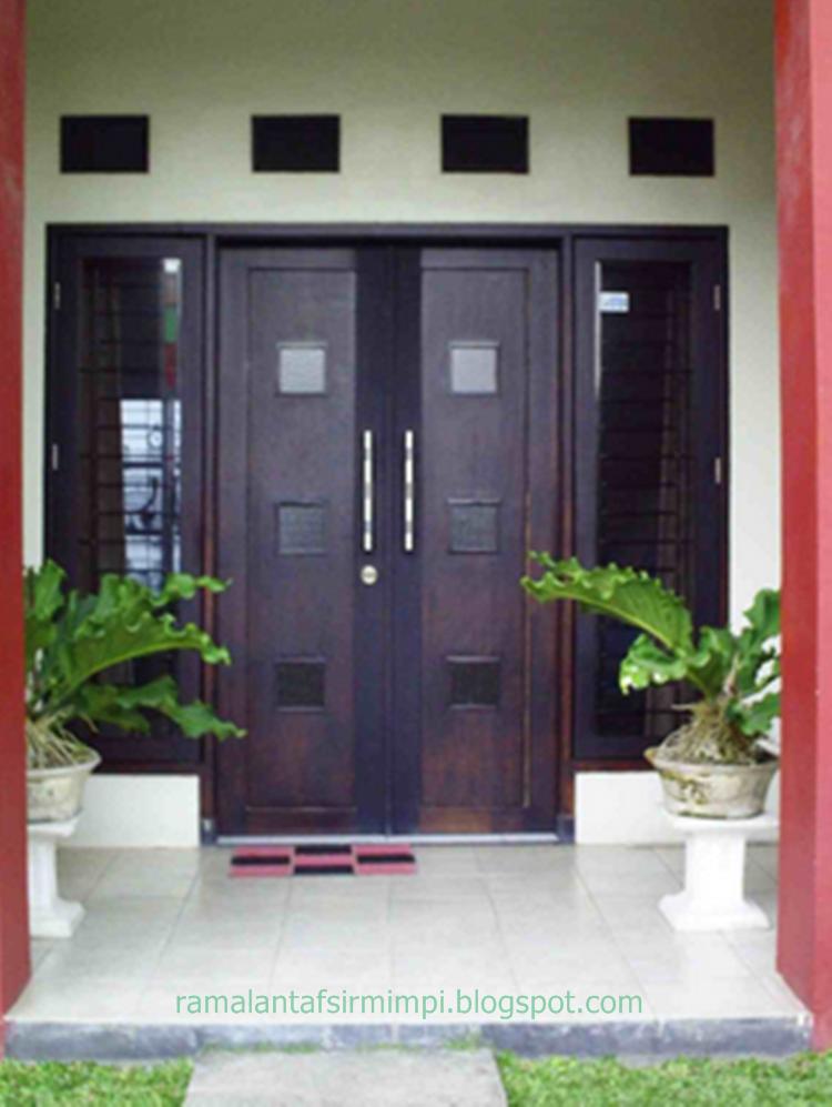 Pintu adalah merupakan lalu lalang atau jalan keluar masuk sebagai sirkulasi manusia atau 11 Arti Mimpi Pintu Rumah Kita Terbuka Menurut Primbon Jawa