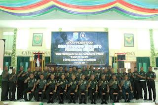 Kodam XII/Tpr Gelar MTT Penataran Hukum sebagai Fungsi Komando