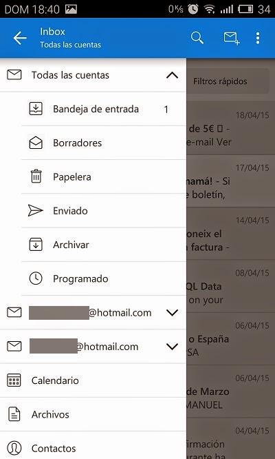 YoAndroideo.com: Microsoft Outlook Preview... porque aún queda gente con Hotmail