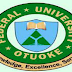 FUOTUOKE Second Batch (contd.) 2017/2018 Admission List Out