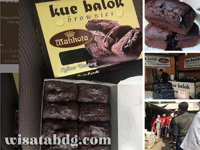 Kue Balok Brownies Mahkota Bandung