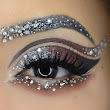 Ideas for Bron Chocolate Make up with Rhinestones