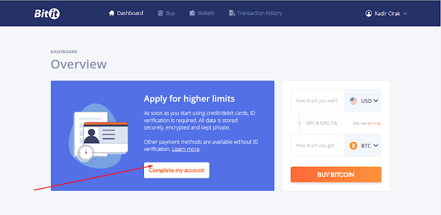 Kredi kartı ile bitcoin nasıl alınır