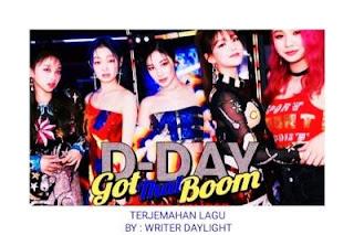 Lirik Lagu Secret Number Got That Boom dan Terjemahan Artinya!!!