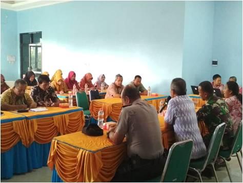 Kodim Sragen - Pertemuan Lintas Sektoral Kesehatan Kec. Sukodono