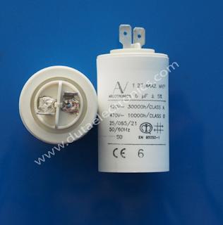 Capacitor Arcotronics 6uF 1.27 6CA2 MKP Original