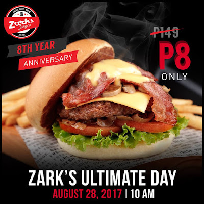 Image result for zark burger promo 2017