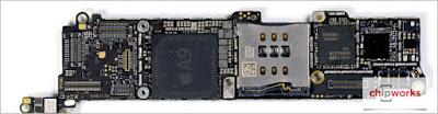 Phan tich yeu to phan cung ben trong dong de iPhone 5SE
