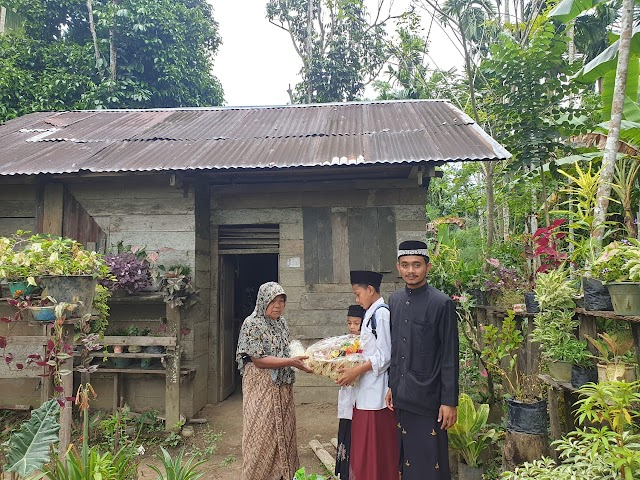 Sukses Lahirkan 4 Cabang Kampung Al Quran, Kopi Hitam Lanjut Salurkan Donasi Umat